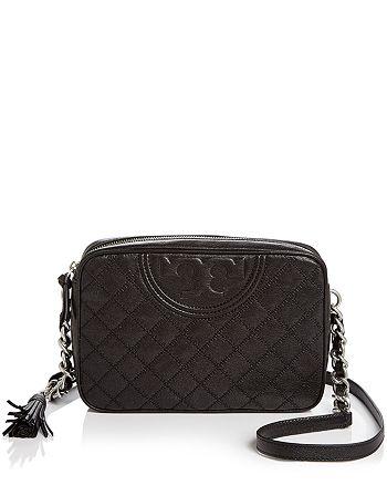 f6fe21fe98b9 Tory Burch - Fleming Medium Leather Camera Bag