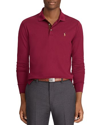 a20d43af Polo Ralph Lauren Classic Fit Long-Sleeve Polo Shirt | Bloomingdale's