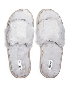PJ Salvage - Faux Fur Slide Slippers