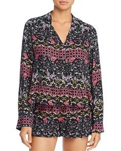 Josie - Printed Twill Short Pajama Set
