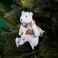 Bloomingdale's - Plush Skating Polar Bear - 100% Exclusive