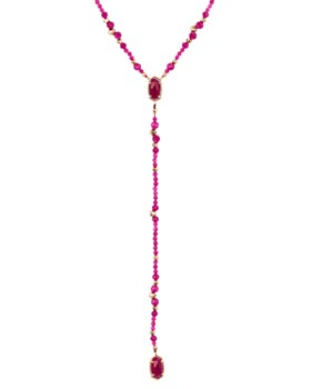 Kendra Scott - Bethany Stone Lariat Necklace, 17""