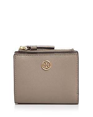 Tory Burch Robinson Small Leather Wallet