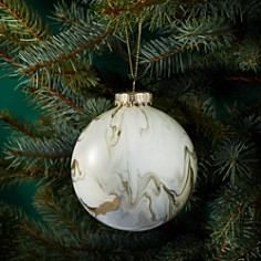 Bloomingdale's Marbleized Glass Ball Ornament - 100% Exclusive_0