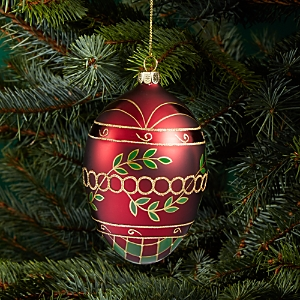 Bloomingdale's Glass Egg Ornament - 100% Exclusive