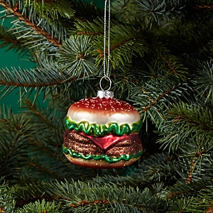 Bloomingdale's Glass Hamburger Ornament - 100% Exclusive