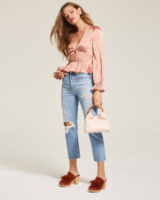 Wedgie Straight Jeans in Authentically Yours