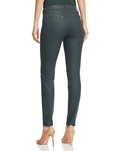 Lafayette 148 New York - Mercer Coated Skinny Jeans in Spruce