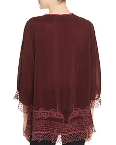 Johnny Was - Assic Embroidered Top