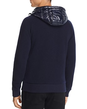 Tommy Hilfiger - Mixed-Media Hoodie