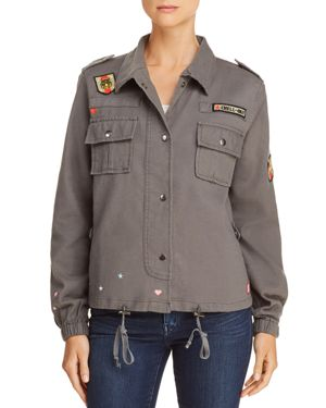 CHASER EMBROIDERED MILITARY JACKET