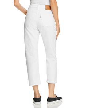 Levi's - Wedgie Straight Corduroy Jeans in Marshmallow