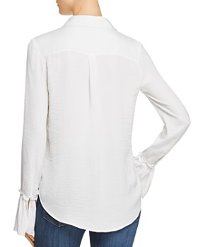 PAIGE - Abriana Pleated-Cuff Shirt