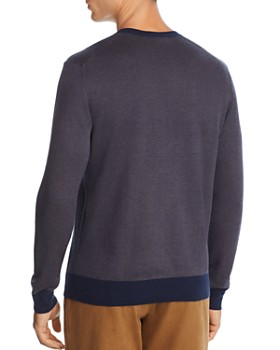 The Men's Store at Bloomingdale's - V-Neck Chevron Sweater - 100% Exclusive