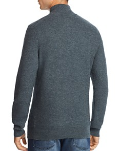 The Men's Store at Bloomingdale's - Suede-Trimmed Pullover Sweater - 100% Exclusive