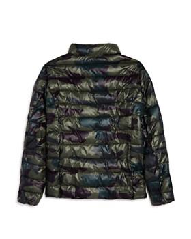 AQUA - Girls' Camo-Print Packable Jacket, Big Kid - 100% Exclusive