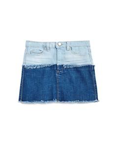 BLANKNYC - Girls' Color-Block Denim Skirt - Big Kid