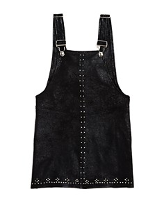 BLANKNYC - Girls' Faux-Suede Overall Dress - Big Kid