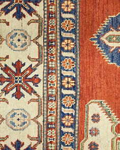 """Solo Rugs - Kazak 11 Hand Knotted Area Rug, 8' 1"""" x 10' 10"""""""