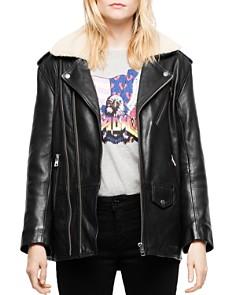 Zadig & Voltaire - Leen Leather Moto Jacket