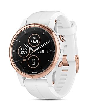 fenix5S Plus Sapphire Premium Multisport Gps White Smartwatch