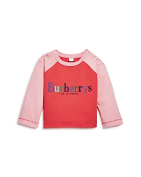 Burberry - Girls' Caris Logo Baseball Tee - Baby