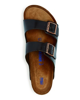 Birkenstock - Men's Arizona Leather Slide Sandals