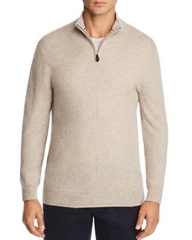 009571aa8ded The Men s Store at Bloomingdale s - Cashmere Half-Zip Sweater - 100%  Exclusive ...
