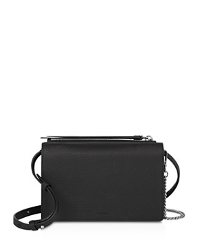ALLSAINTS - Fetch Large Leather Chain Wallet Crossbody