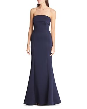 Eliza J Strapless Mermaid Gown