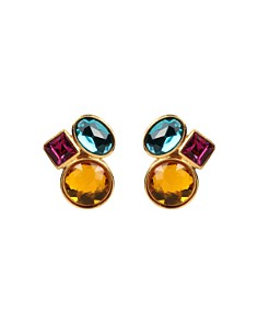 Ben Amun - Cluster Clip-On Earrings