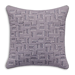 Splendid Quilted Voile Decorative Pillow, 18 x 18