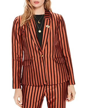 Scotch & Soda DICE STRIPED BLAZER