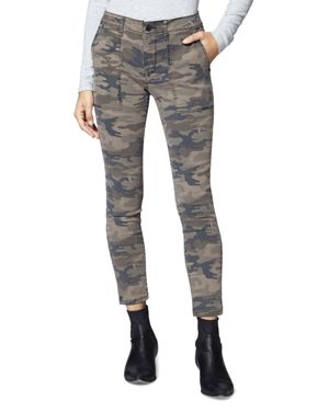 Fast Track Camo Skinny Chino Pants in Human Nature Camo