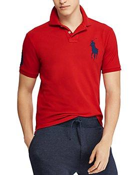 Polo Ralph Lauren - Big Pony Custom Slim Fit Mesh Polo Shirt