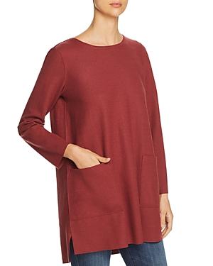 Eileen Fisher Wool Tunic Sweater