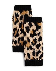 kate spade new york - Leopard Jacquard Arm Warmers