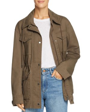 Enzyme Washed Field Jacket, Faded Army