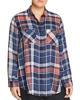 Lucky Brand Plus - Plaid Shirt