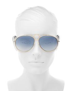 Chloé - Women's Romie Mirrored Aviator Sunglasses, 61mm