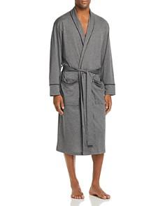 Daniel Buchler - Contrast-Piped Cotton Robe