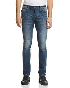 John Varvatos Star USA - Bowery Slim Fit Jeans in Medium Blue - 100% Exclusive