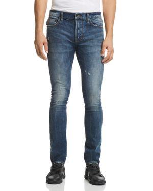 John Varvatos Star Usa Bowery Slim Fit Jeans in Medium Blue - 100% Exclusive