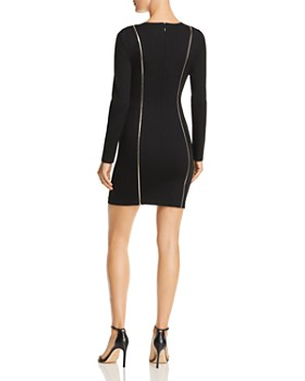 GUESS - Wess Zip Detail Body-Con Dress