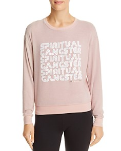 Spiritual Gangster - Retro Savasana Logo Sweatshirt