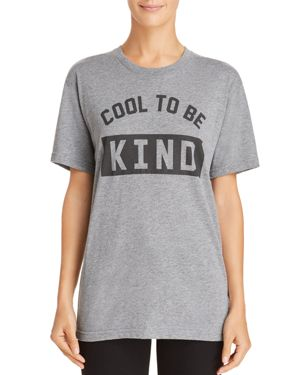 KID DANGEROUS Girl Dangerous Cool To Be Kind Tee in Medium Gray