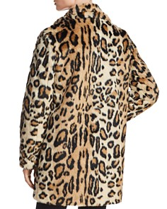 Apparis - Margot Leopard-Print Faux-Fur Coat