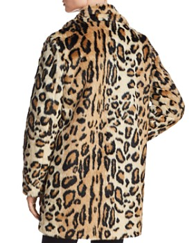 e58934fbe37 ... Apparis - Margot Leopard-Print Faux-Fur Coat