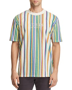 GUESS Riviera Striped Tee - Bloomingdale's_0