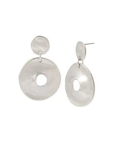Robert Lee Morris Soho - Double Disc Drop Earrings